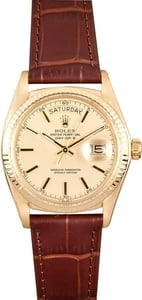 Rolex President Day Date 1803 Leather