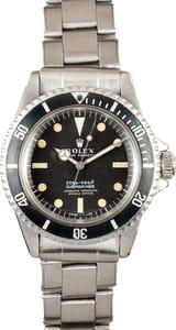 Vintage Rolex Submariner Ref 5512