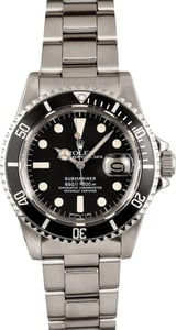 Men's Rolex Submariner Stainless Steel 1680, Pre-Owned