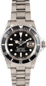Men's Vintage Rolex Submariner Stainless Steel 1680