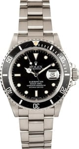 Black Rolex Submariner 16800