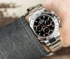 Rolex Daytona Black 116520 Certified Pre-Owned
