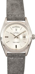 Rolex White Gold Presidential 1803
