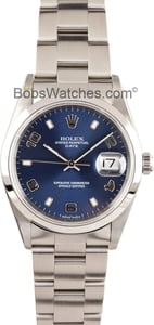 Pre-Owned Men's Rolex Date Stainless Steel 15200WRO