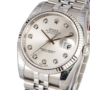 Rolex Datejust Diamond Dial 116234