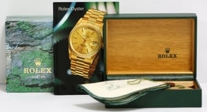 Rolex President Bark 18078 Diamond Dial