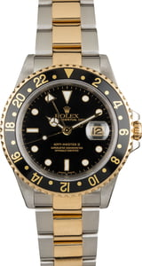 Pre Owned Men's Rolex GMT-Master II Ref 16713 Two Tone Oyster