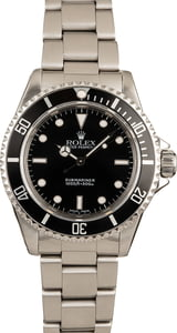 Pre Owned Rolex 14060 No Date Submariner Timing Bezel
