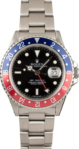 Pre-Owned Pepsi Rolex 16710 GMT Master II