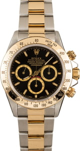 Pre-Owned Rolex Daytona 16523 Black Dial