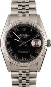 Rolex DateJust 16234 Black Dial