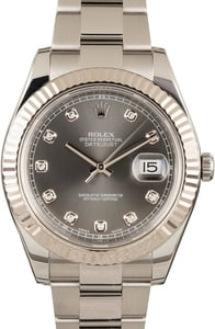 Rolex Datejust II Ref. 116334 Diamonds