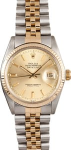 Rolex 16013 Champagne Dial