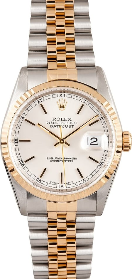 Rolex DateJust Diamond Dial 16233