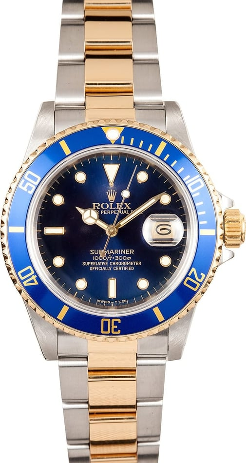 Two Tone Blue Submariner