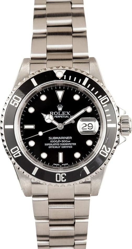 Rolex Submariner Black