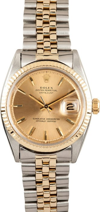 Vintage Rolex Two Tone DateJust 1601
