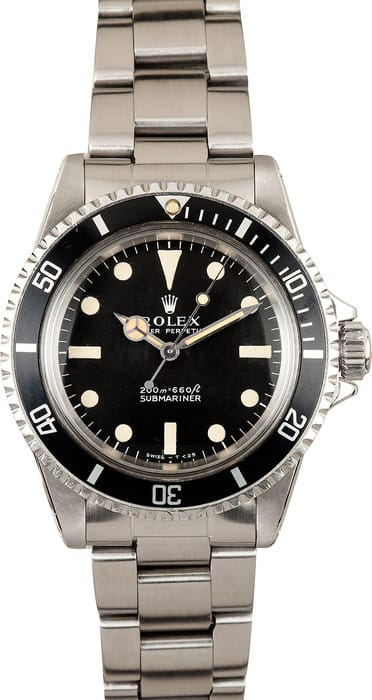 Vintage Submariner 5513 Circa 1967, Two Line