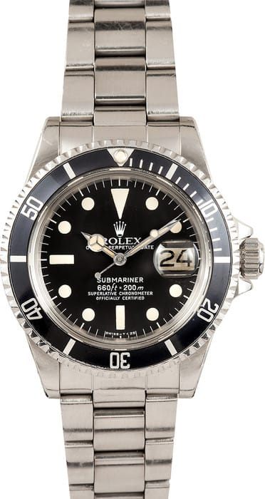 Rolex Submariner 1680 Circa 1978, Original Bezel