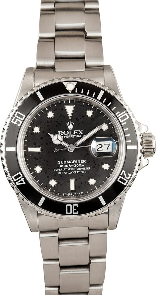 Rolex Submariner Black 16800