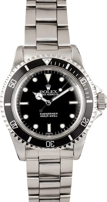 Vintage Rolex Submariner Watch 5513 1