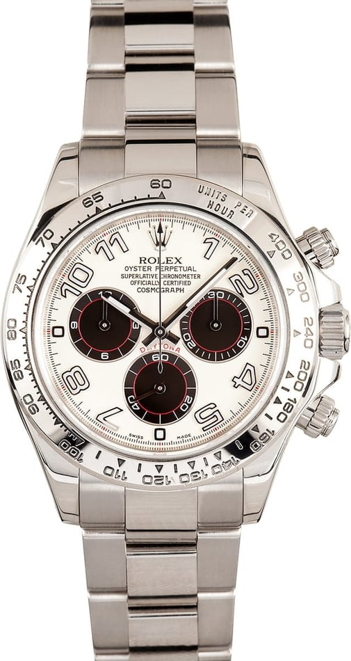 Rolex Daytona White Face