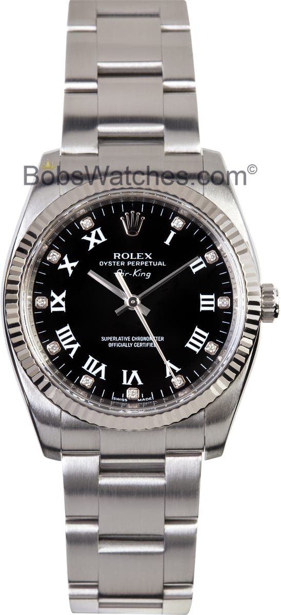 Rolex Air King 114234 Factory Stickers