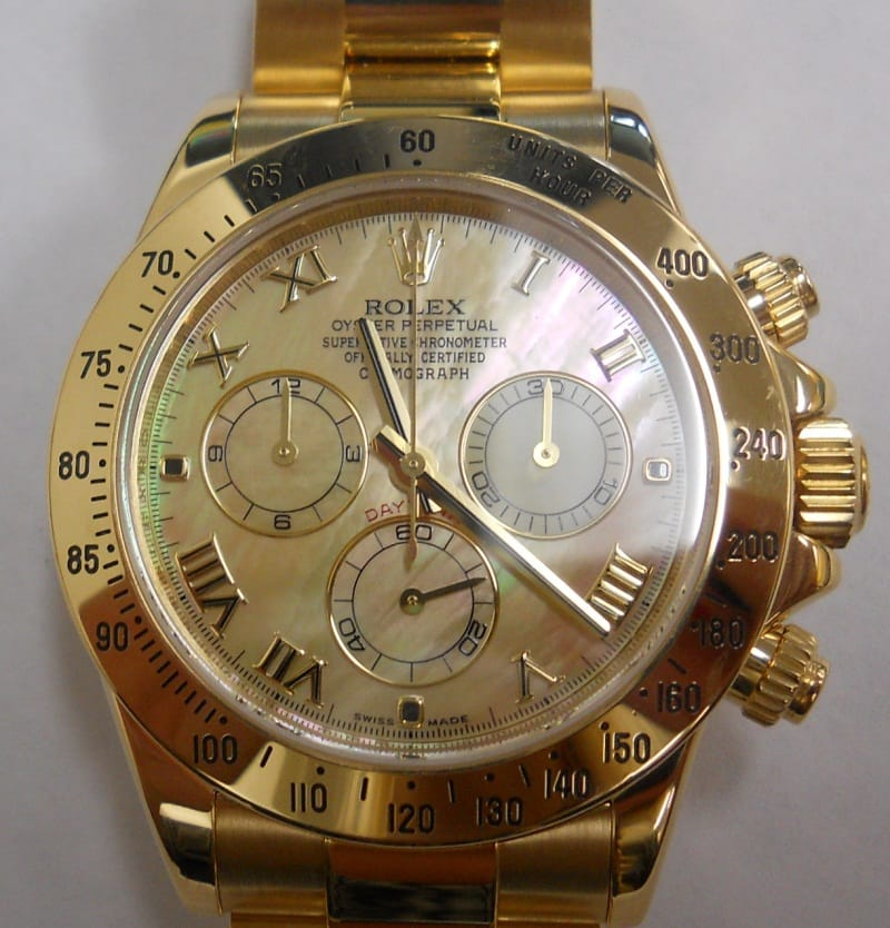 Rolex Daytona Mother Of Pearl Diamond 116528 For Sale At