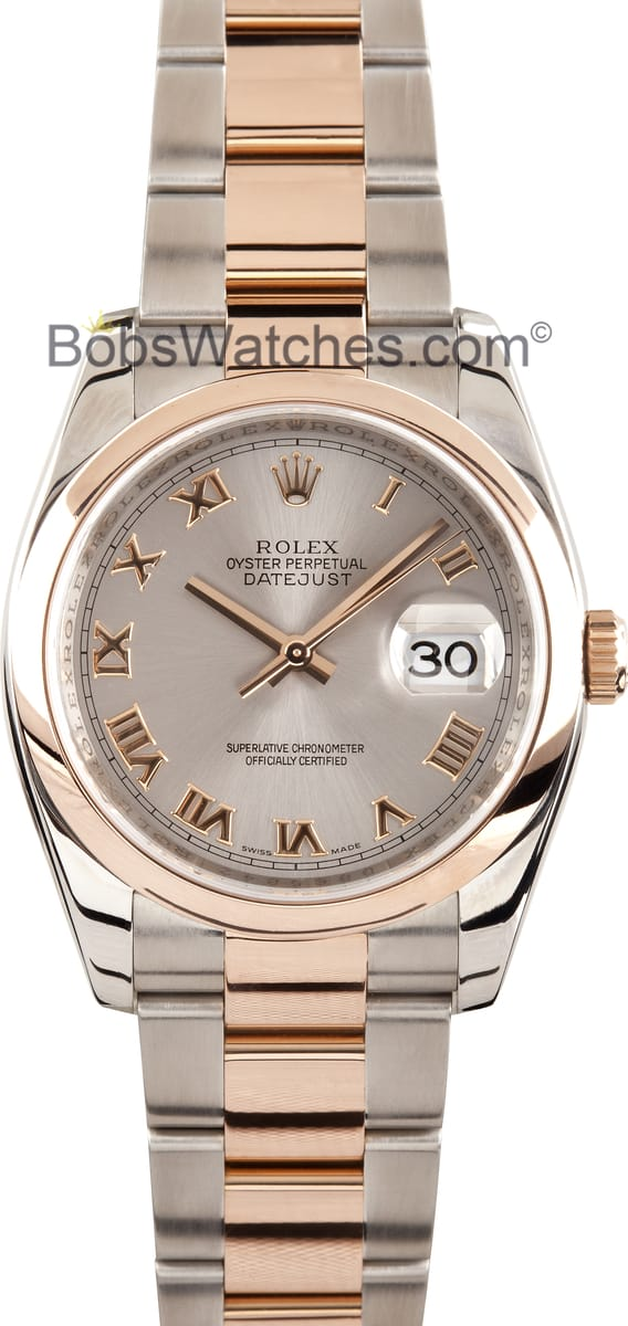 Rolex Watches Rose Gold Mens