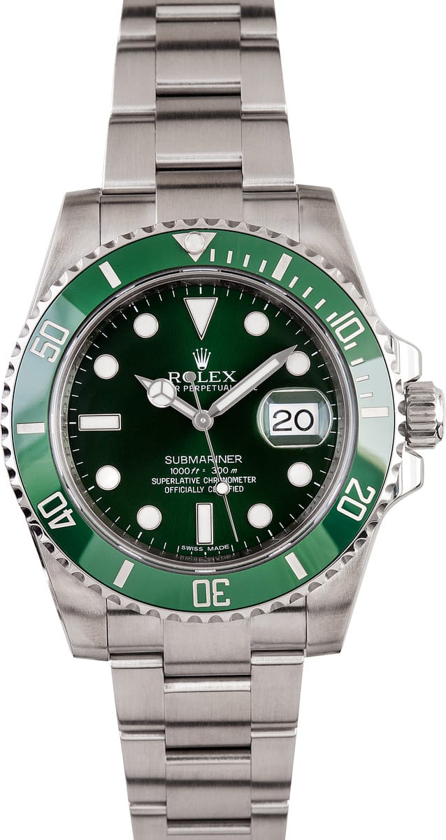 rolex submariner green s 116610lv low prices