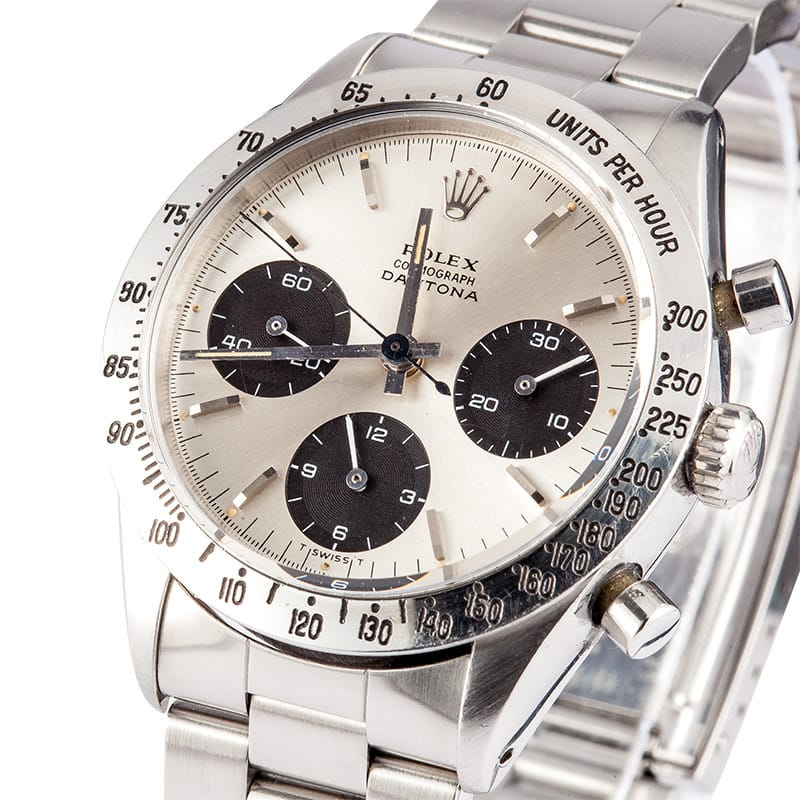 Rolex Daytona Paul Newman Stainless Steel