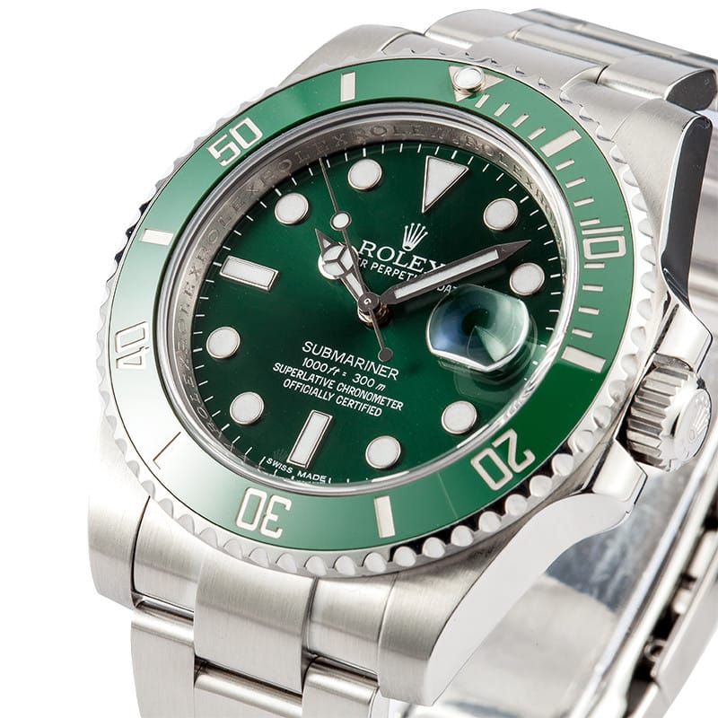 green rolex submariner 116610v ceramic submariner green 116610v anniversary bob 39 s watches