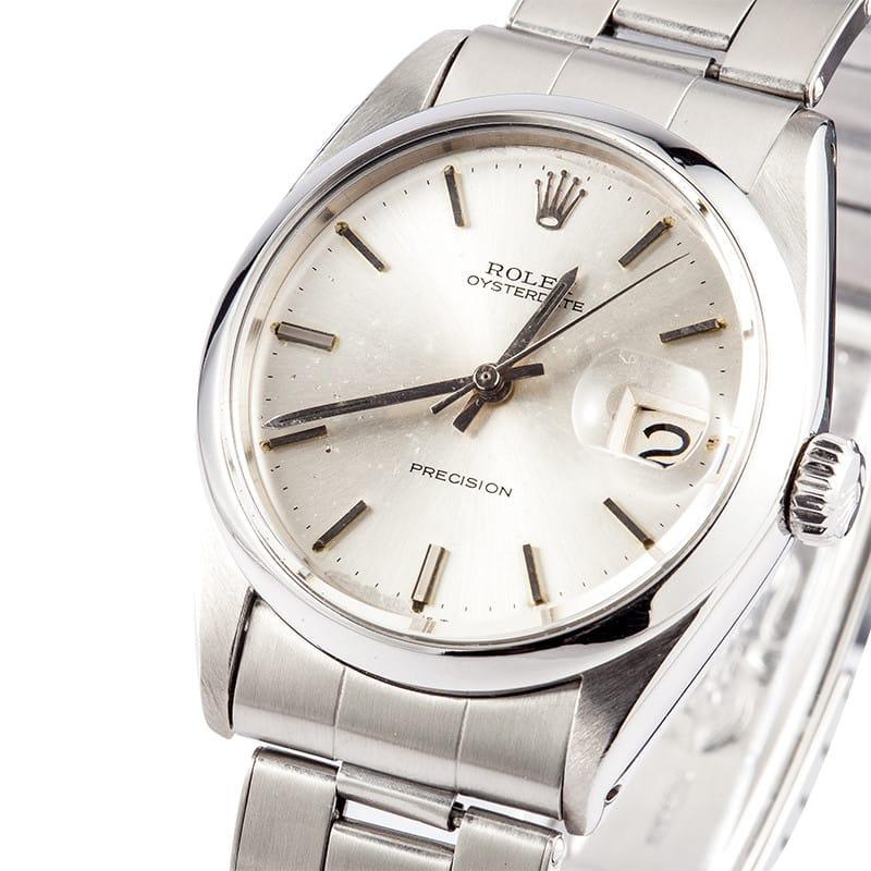 vintage rolex 6694 wristwatch