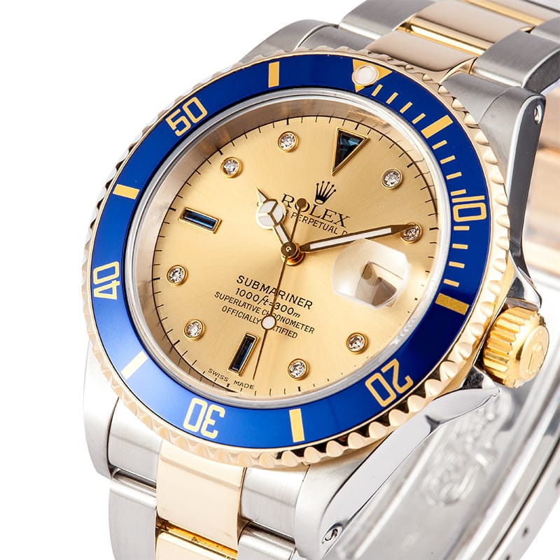 Rolex Submariner Gold Face armourseal.co.uk