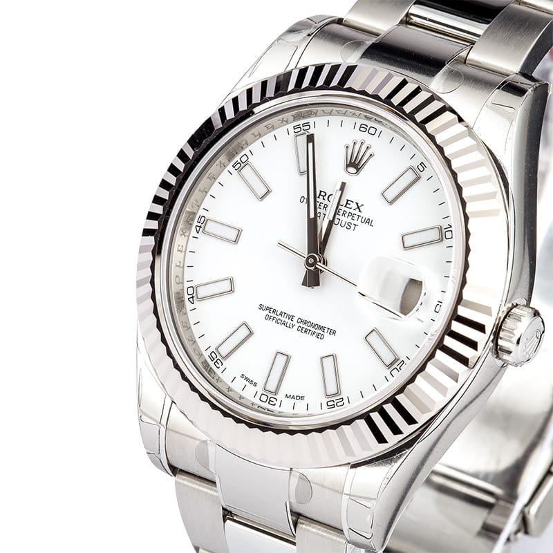 21a3e5b8d19 Rolex Oyster Perpetual DateJust II Luminous Dial 116334
