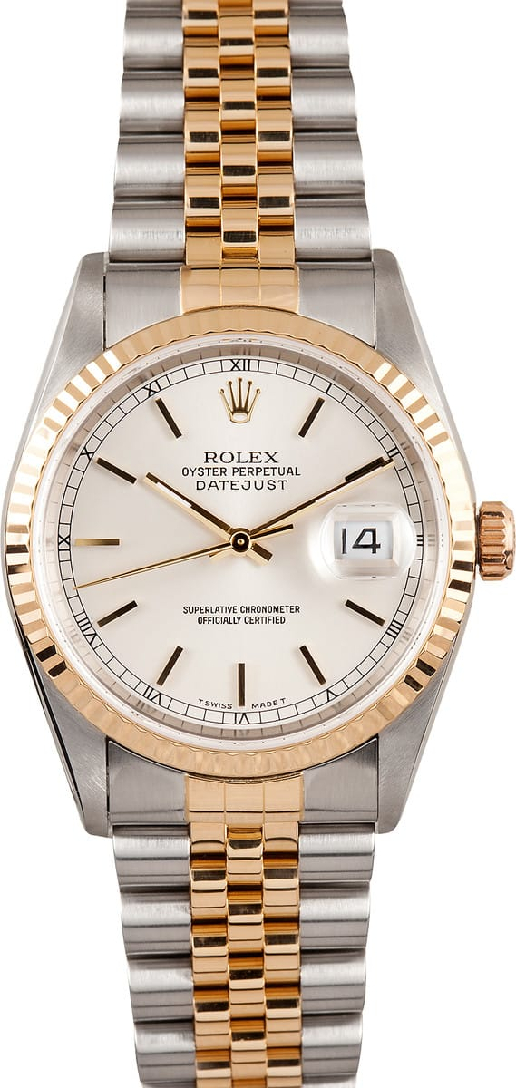 Used Rolex Datejust 16233 SSRJ - Bobs Watches