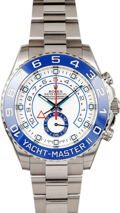 Used Rolex Daytona >> Rolex Yachtmaster II 116680 Stainless Steel - Bob's Watches