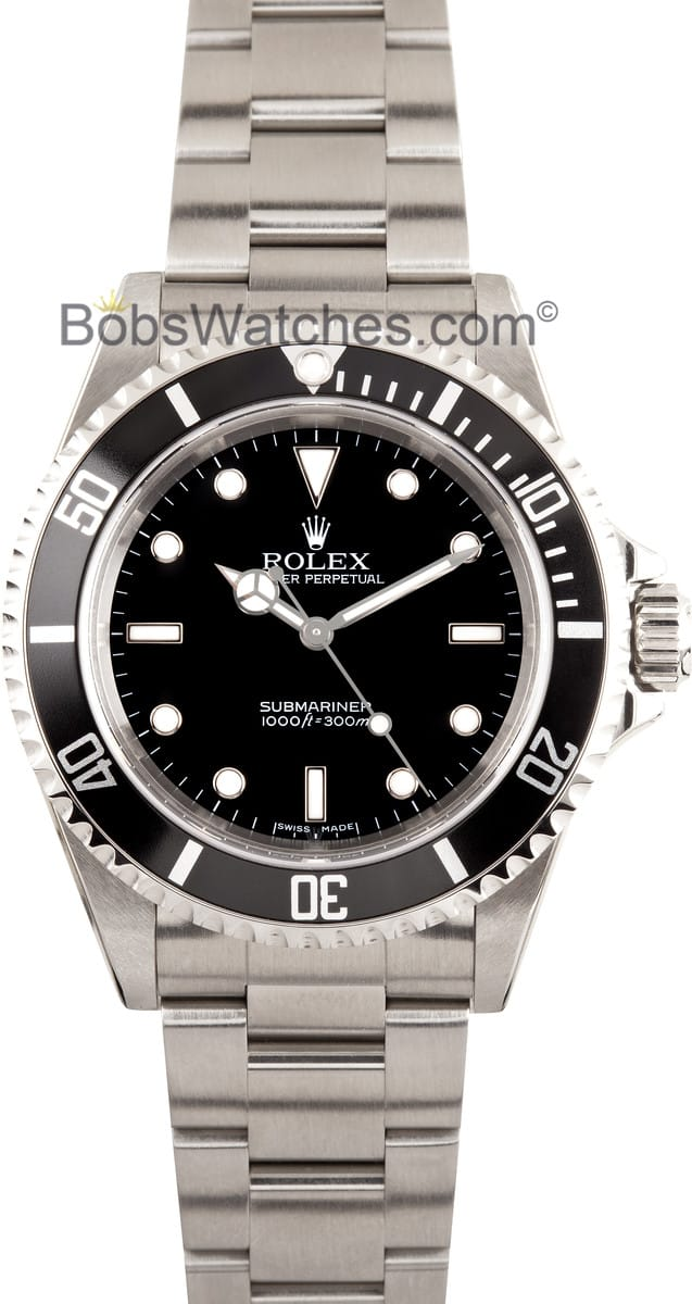 rolex submariner 14060m no date used get the best price today. Black Bedroom Furniture Sets. Home Design Ideas