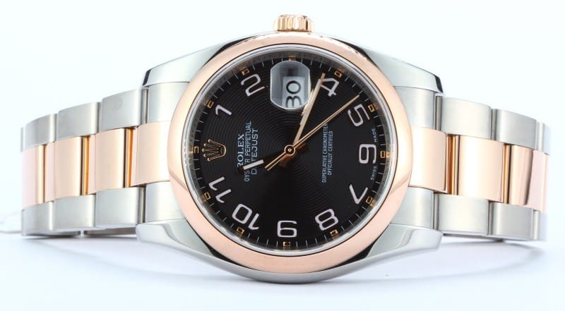 rose gold datejust 116201 from Bob's watches.