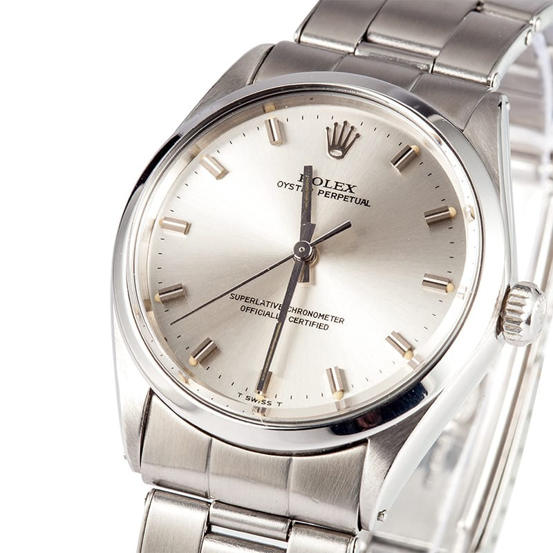 Mens Rolex Vintage Oyster Perpetual 1002 - On Sale 5a57a2f96577