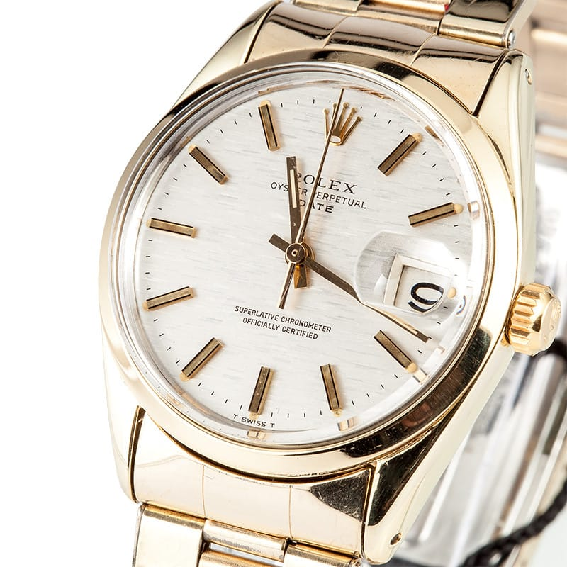 The Rolex Date 1550 is watch that will last a lifetime.