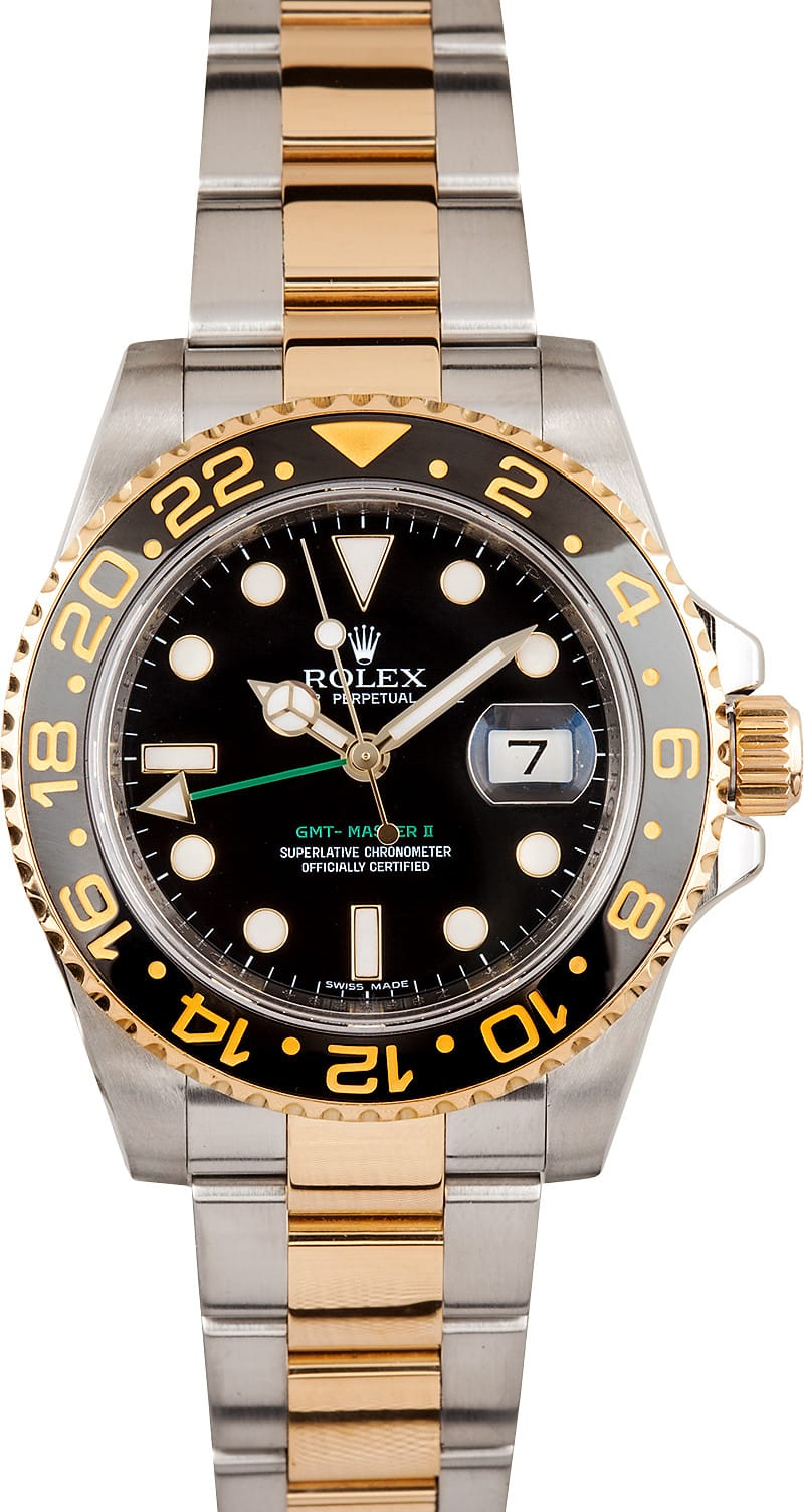 Rolex gmt master ii ref 116713 save at bobs watches for Rolex gmt master