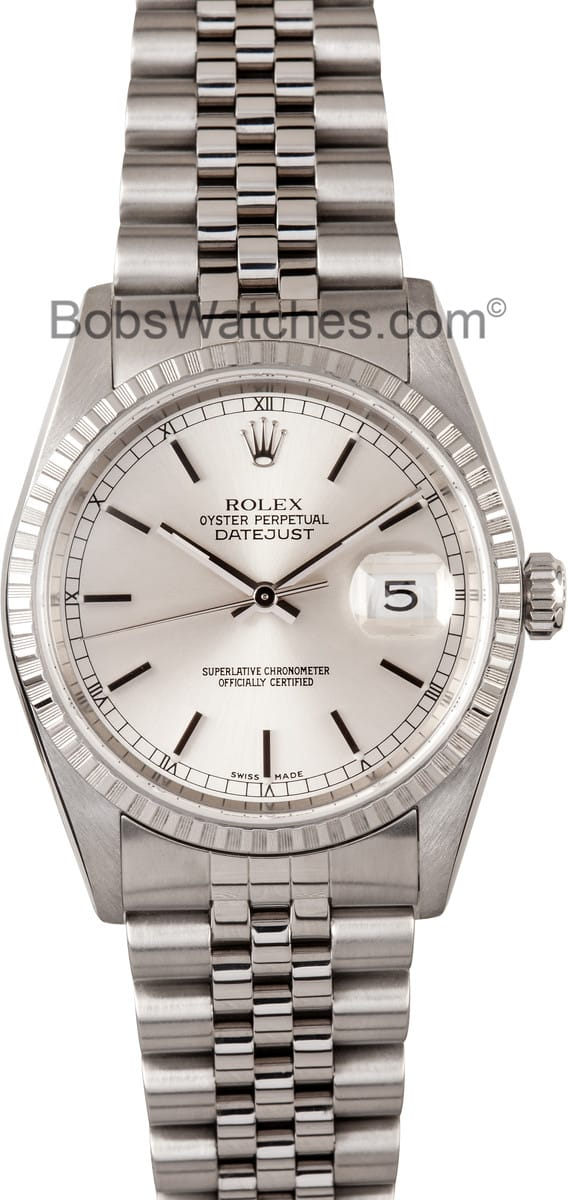 13162763580de Here are similar in stock watches you might like. Rolex Oyster Perpetual  DateJust 16014 Stainless Steel$3,795