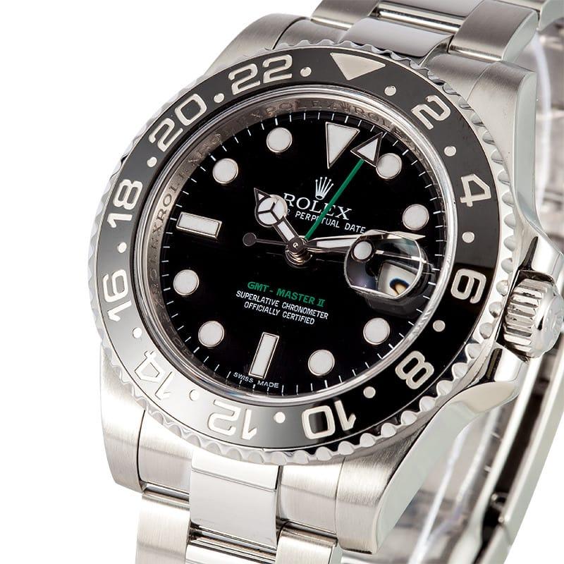 New Rolex Gmt Master Ii Ceramic 116710 Ln