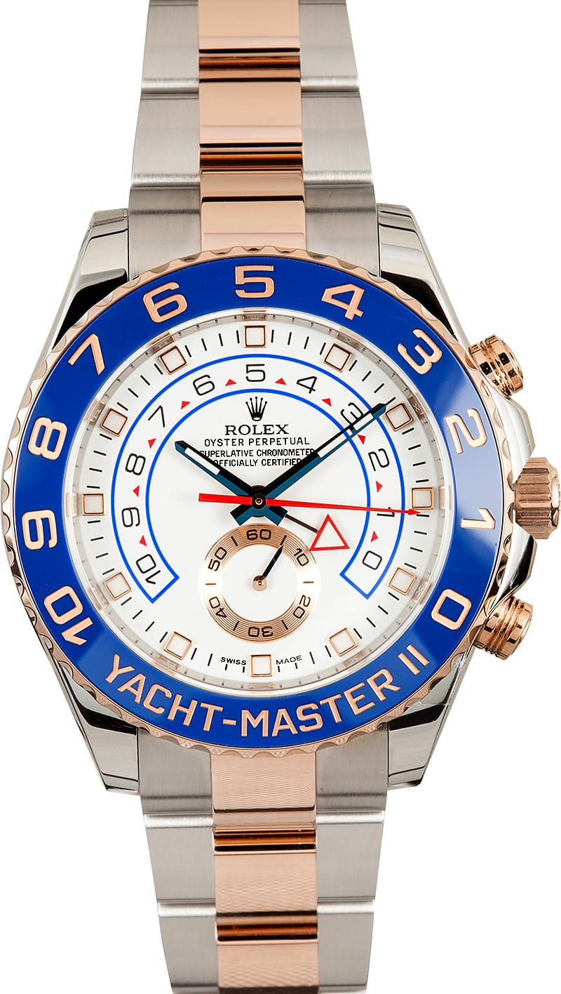 Yachtmaster 2 rose gold review
