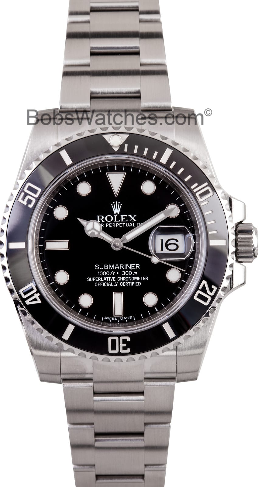 new model rolex black submariner 116610 submariner stainless steel 116610 with ceramic bezel. Black Bedroom Furniture Sets. Home Design Ideas