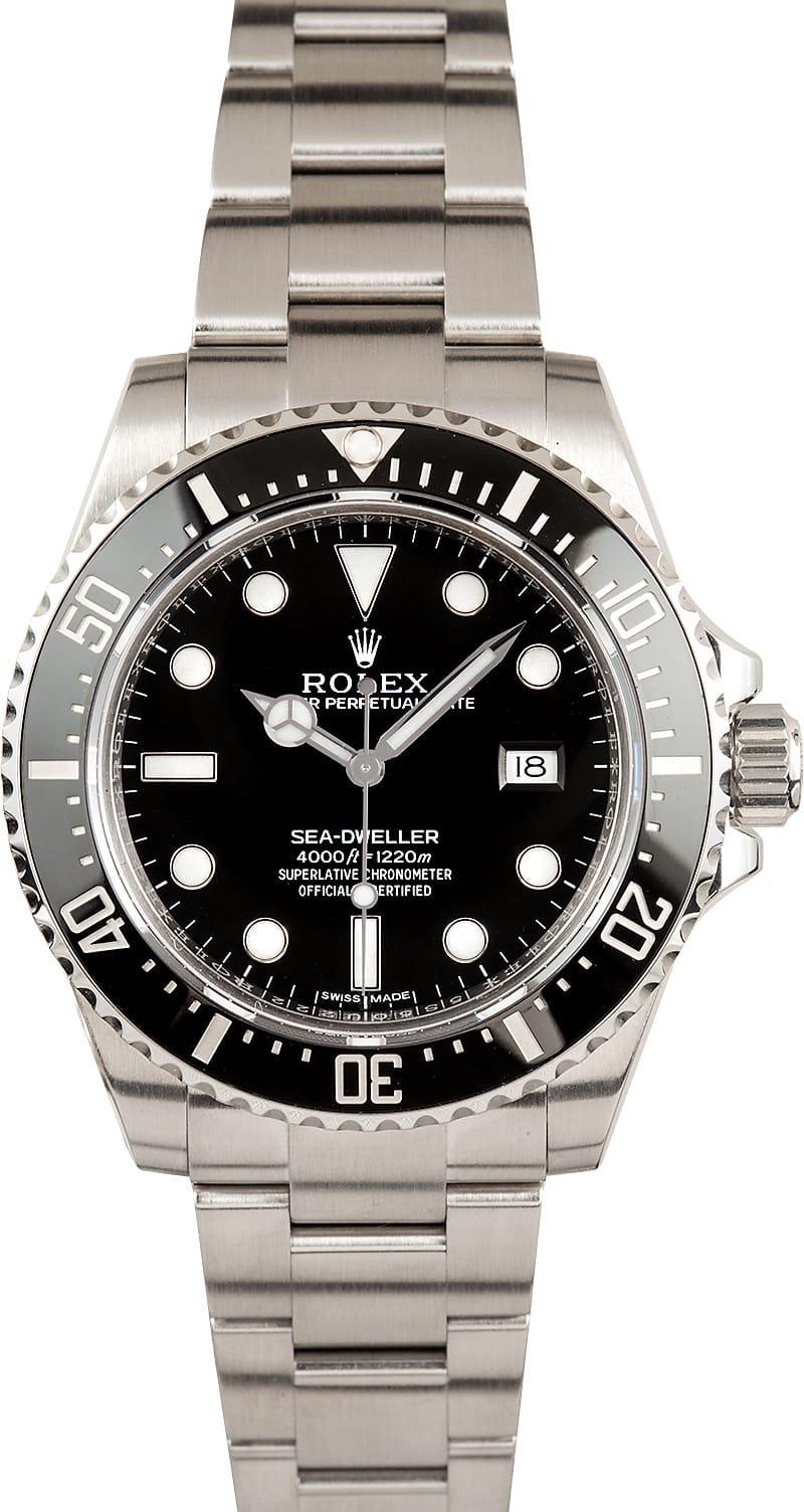 Rolex men 39 s sea dweller 116600 for Rolex sea wweller