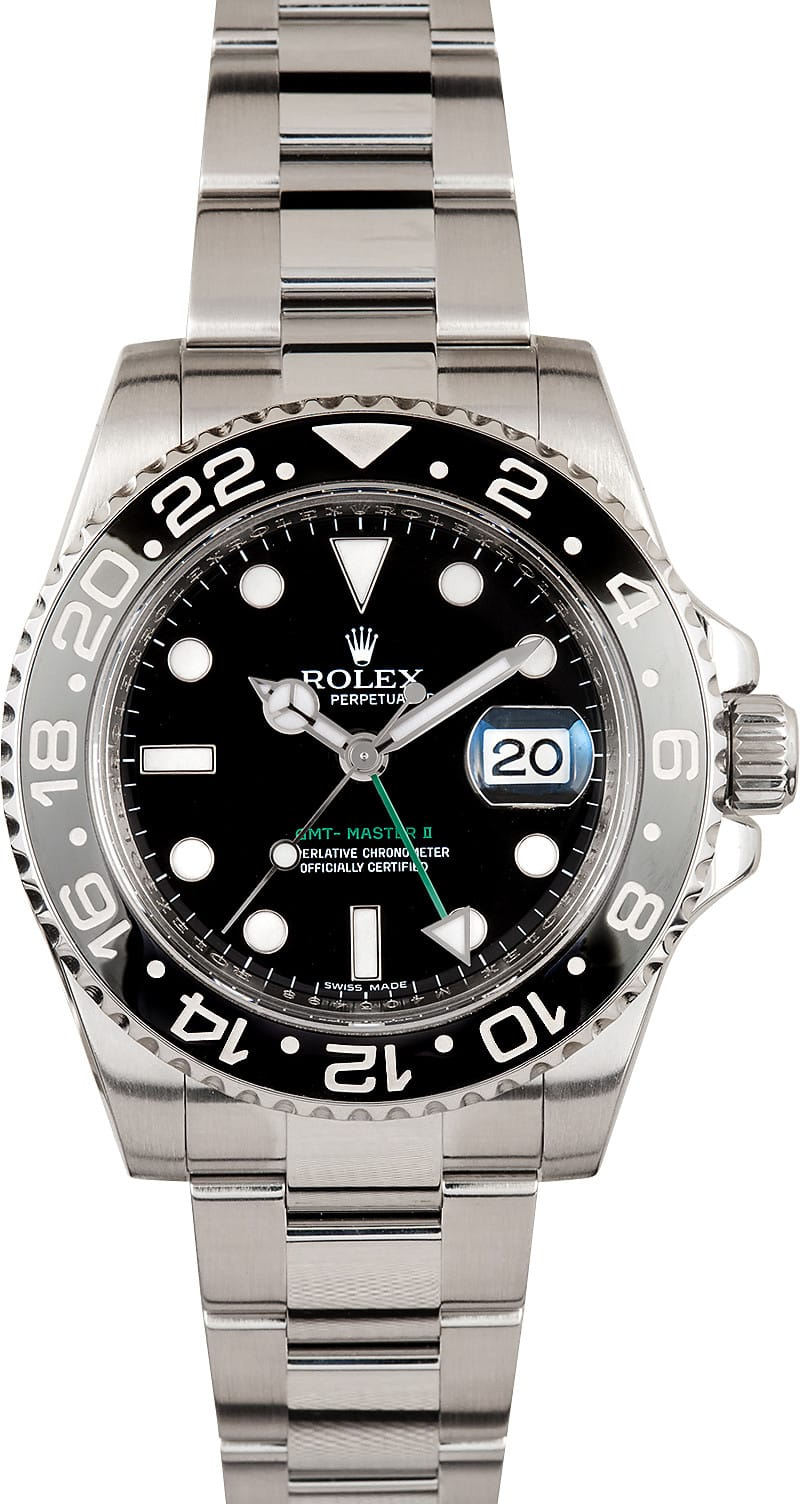 rolex gmtmaster ii 116710 buy it at bobs watches and save