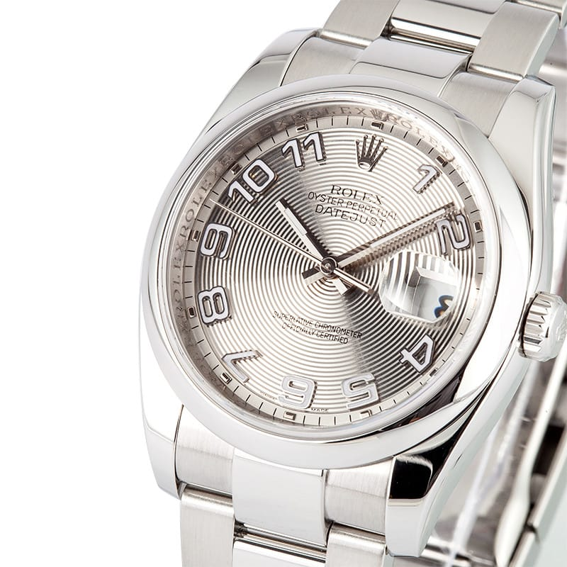 used s rolex datejust 116200 save on pre