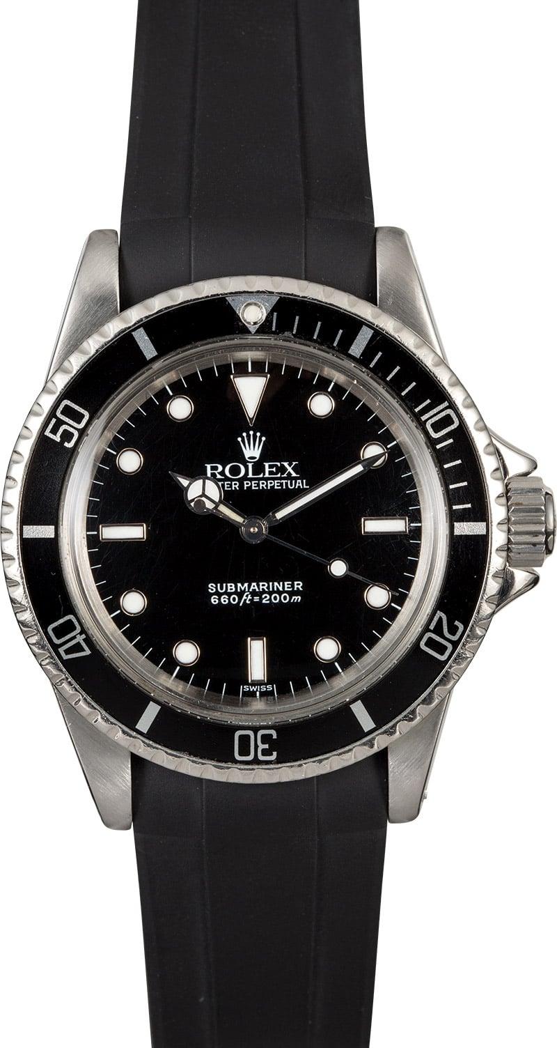 Rolex Vintage Submariner 5508  Vintage Rolex Submariner